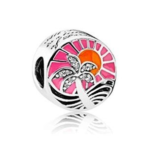 ~RETIRED~ Authentic Pandora Tropical Sunset Charm
